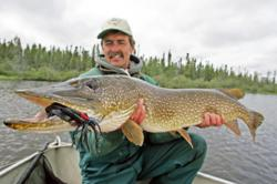 Trophy Northern Pike at North Knife Lake Lodge