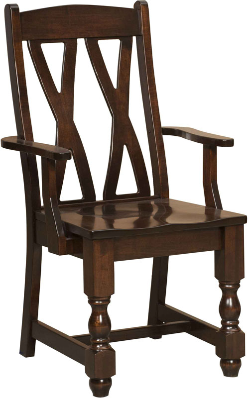 Brandenberry Amish Furniture Launches New Amish Artisan Handcrafted Chairs