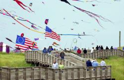 Washington State International Kite Festival, Kite Museum, kites, kite fliers, kite competitions, Long Beach, WA, boardwalk, vacation destination