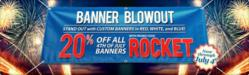 Banner Blowout — Signazon.com