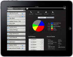 360 CRM on the Apple iPad