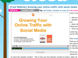 Growing your online traffic with social media