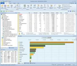 FolderSizes disk space analysis software tool for Windows