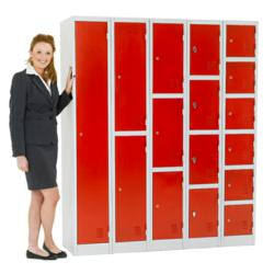 Atlas Steel Lockers - Available in Stock for Quick Delivery from Action Storage