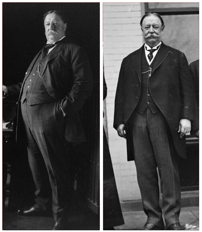 new book reveals how president taft lost 76 pounds of body