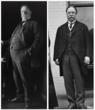 President Taft Before and After His Weight-Loss Diet Program