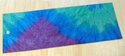 New Peacock rSkidless Yoga Towel