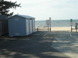 Shea Concrete Delivers Precast Restroom for Pleasant Road Beach in Harwich, Mass.