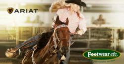 Free Shipping on all Ariat Shoes.