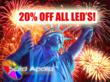 Solid Apollo LED Company is Celebrating Independence Day by Honoring...