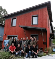 Seattle remodeler and builder at Courtland Place Passive House.