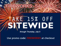 Take advantage of TigerChef's July 4th sale! Stock up on Restaurant Equipment and Kitchen Supplies