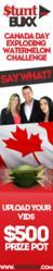 Canada Day Watermelon Splat Contest 2012