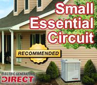 essential circuit generator, standby generator, standby generators