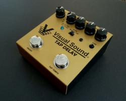 The new V3 Tap Delay by Visual Sound.
