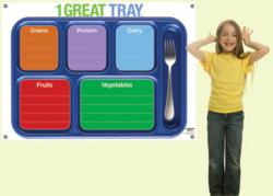 1 Great Tray Menu Board from Learning ZoneXpress