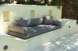 Summer Trend Alert: Indoor/Outdoor fabrics can take the heat stylishly