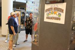 A photo from the Ark-La-Tex Sports Museum of Champions
