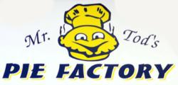 Mr. Tod's Pie Factory Logo
