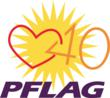 The Special Edition PFLAG 40th Anniversary Logo
