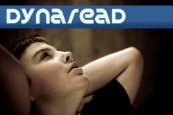 A young teen is staring upward - hopeless-, set in dark background. Dynaread's logo featured in the top of the image.