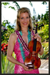 Elizabeth Pitcairn Plays the Red Violin at Four Seasons Resort Maui December 6, 2014.