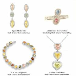 Some of the jewelry designs in the La Fiesta collection