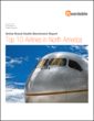 New benchmark report by Heardable ranks top airline brands in N. America