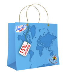 15% Discount On Map Store
