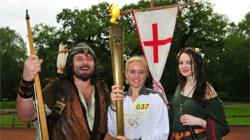 Day 41: Olympic Flame to visit Lincoln Cathedral and Sherwood Forest on its journey from Lincoln to Nottingham