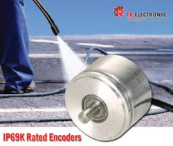 NEW IP69K Rated Encoders from TR Electronic