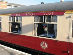 Train Chartering's range of trains for charter includes the Royal Scot