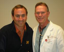 Dr. Vaughn Starnes with Adam Pick, founder of HeartValveSurgery.com