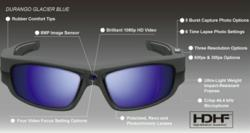 Pivothead wearable eyewear camera