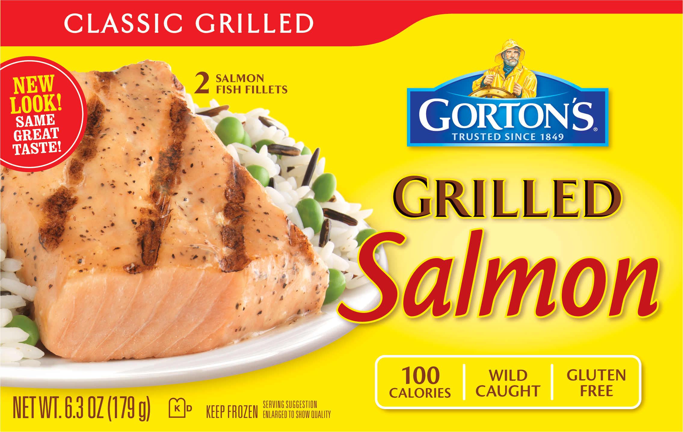 Gorton 39 s seafood 39 s grilled fish given stamp of approval by for Gordon fish sticks