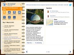 Mobile app conferences