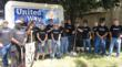 Time Warner Cable employees volunteered with the United Way of Trumbull County.