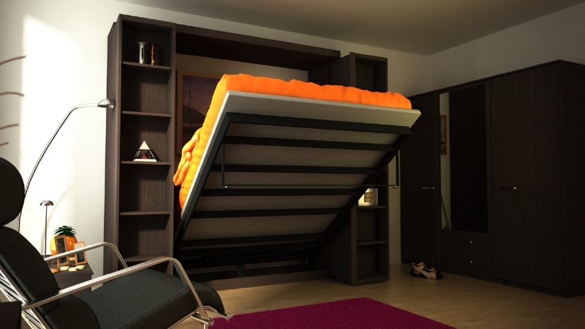 Not Your Grandma S Murphy Bed More Space Place Is