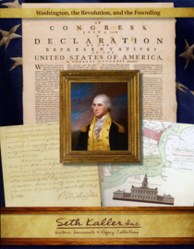 Seth Kaller introduces new catalog of historic documents including letters and other documents signed by George Washington