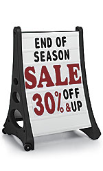 Retail Sidewalk Signs - New Products from Store Supply Warehouse