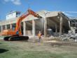 Prichard Stadium Sports Complex Demolition, Fort Hood, TX