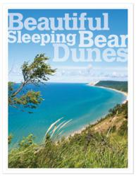 cover of Beautiful Sleeping Bear Dunes a photo book by MyNorth Media, producers of Traverse Magazine