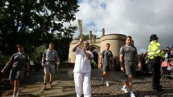 Day 42: Olympic Flame to Travel on the Heights of Abraham Cable Car and Visit Chatsworth House on Journey From Nottingham to Derby