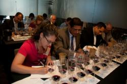 Sommeliers during Montes Grand Cru Challenge