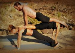 Owners of Ra Yoga Studio Showing their Dedication and Dexterity