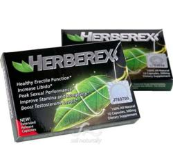Herberex Inc. follows strict supplement manufacturing guidelines.