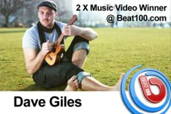 Dave Giles Music Chart Video Winnersl