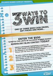 """Alliance Rubber Company """"Stretch the Limits of Alliance Rubber Bands"""" Contest"""