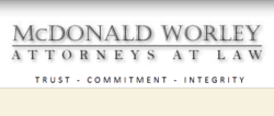 McDonaldWorley.com Case Funding