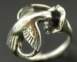 "Humming bird ring worn by Keira Knightley in movie ""Seeking a Friend for the End of the World"""